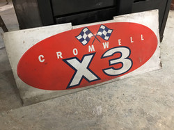 Cromwell Hobby Car Sign