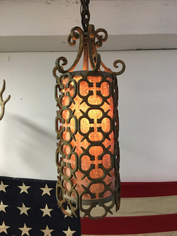 Hanging Iron Lamp