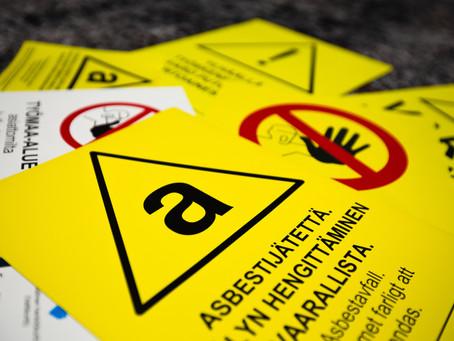 Asbestitöissä vaaditaan vankkaa ammattitaitoa