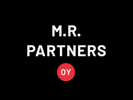 M.R. Partners Oy:n kokonaisjakautuminen 28.2.2020 ja laskutusosoitteen muutos