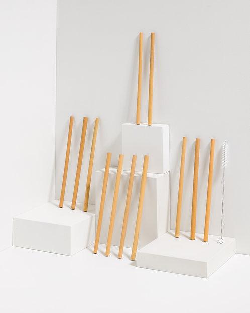 Bambus Strohhalm - 100% Naturprodukt