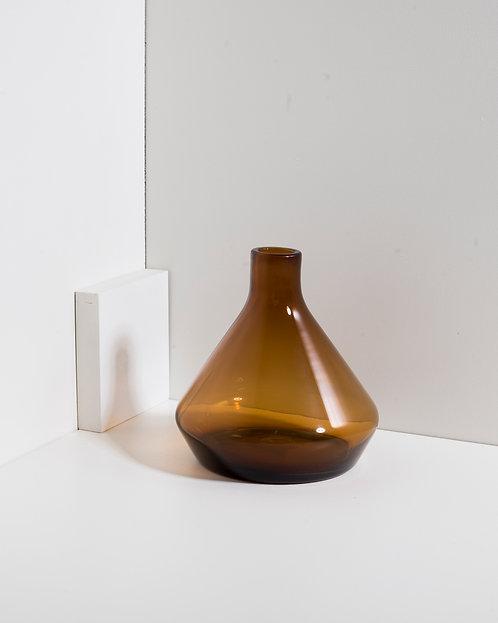 Braune Glasvasenflasche - klein