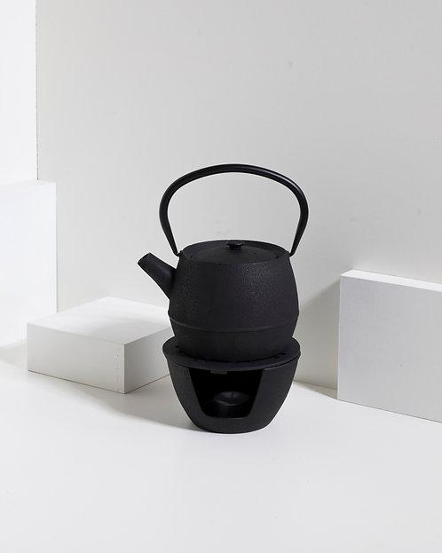 Brenner - Cast in schwarz