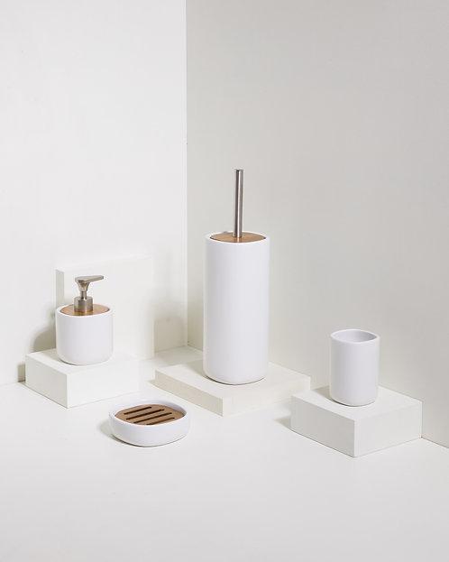 Keramik und Akazien 4er - Set