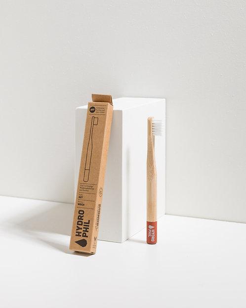 Nachhaltige Kinder Zahnbürste – Rot – Extra Weich