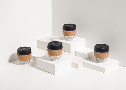 KeepCup - Cork/Black - Small