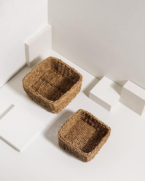 Quadratisches Korb Set