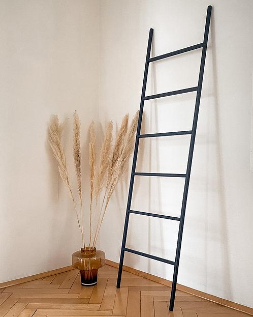 Leiter - schwarz/metall