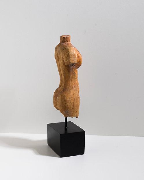 Holz Statue - Büste Frau