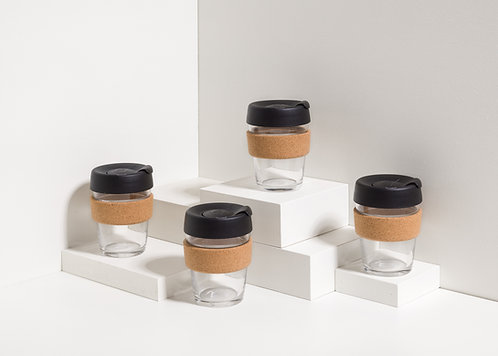 KeepCup - Cork/Black - Medium