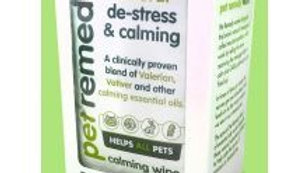 Pet Remedy De-stress and calming wipes