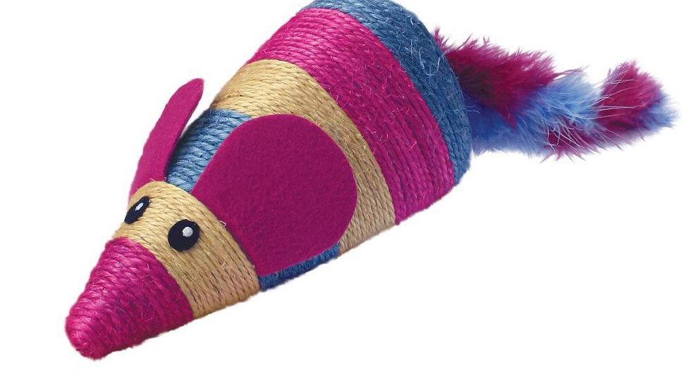 KONG Wrangler Scratch Mouse