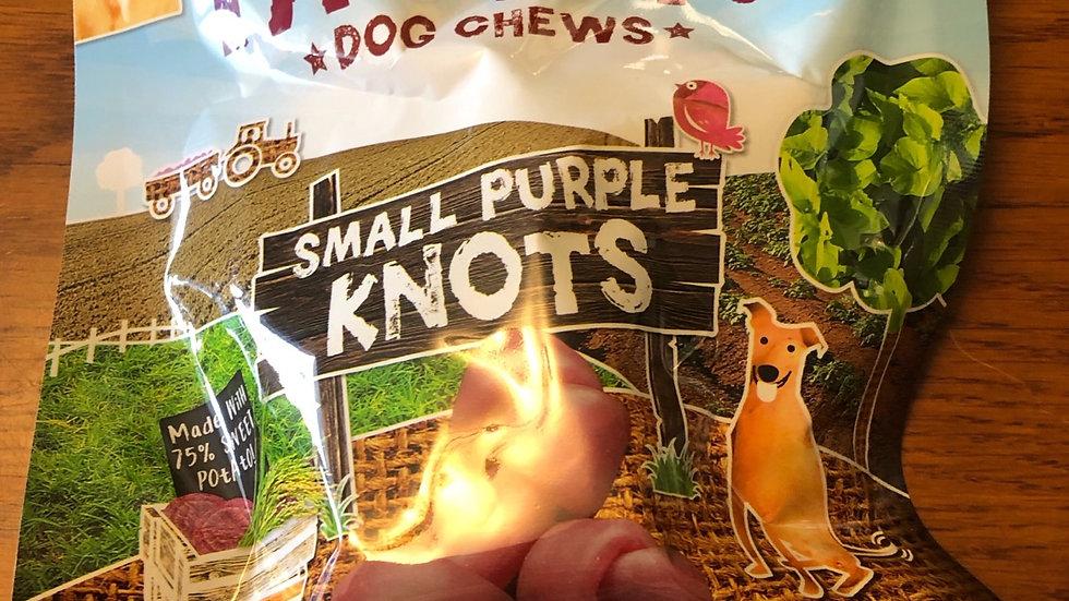 Benevo Pawtato Small Purple Knots