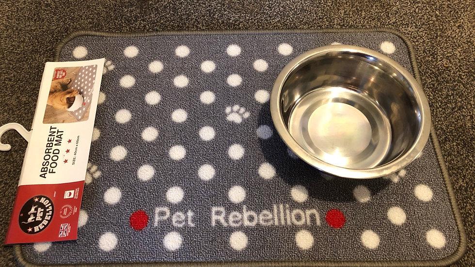 Pet Rebellion Dinner Mat (bowl not included)
