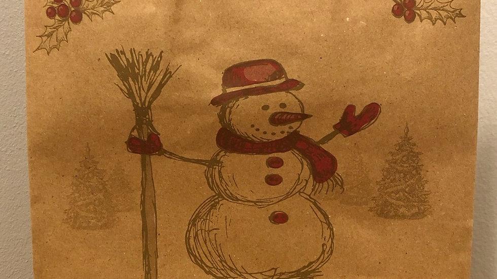 Vintage Christmas Gift Bag