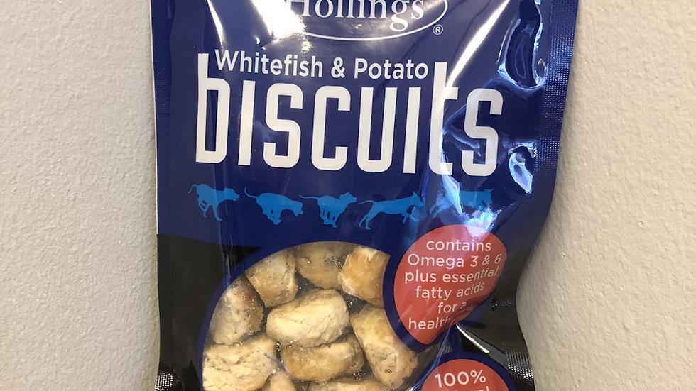 Whitefish & Potato Biscuits