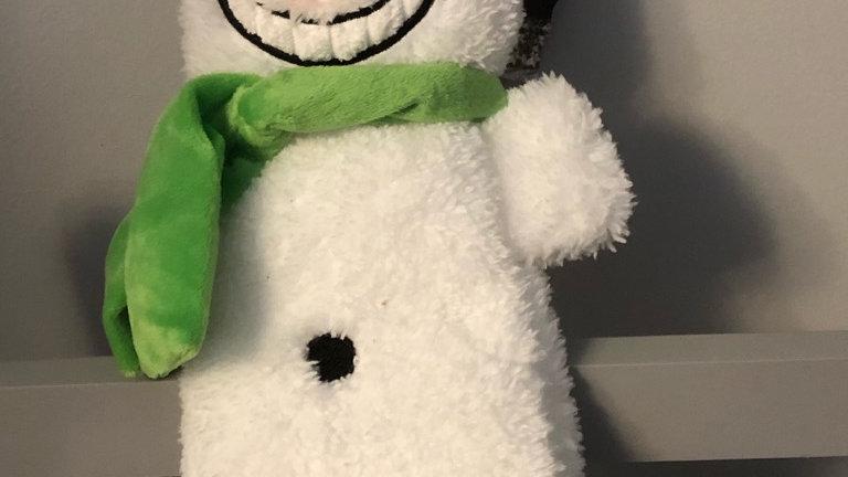 """Stuffed Head Snowman 15"""""""
