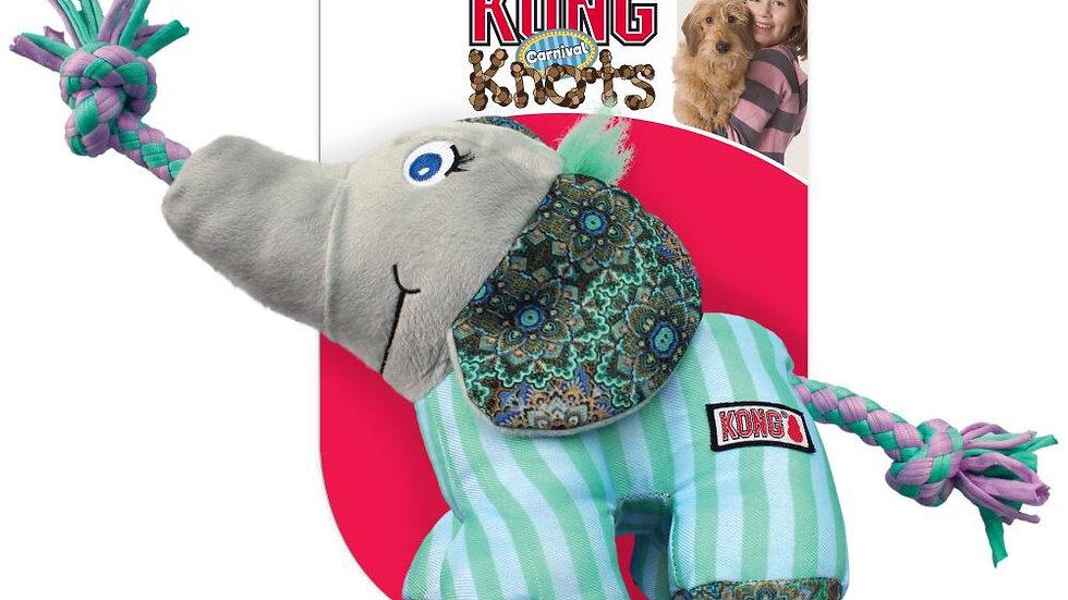 KONG Knots Carnival Elephant - Small