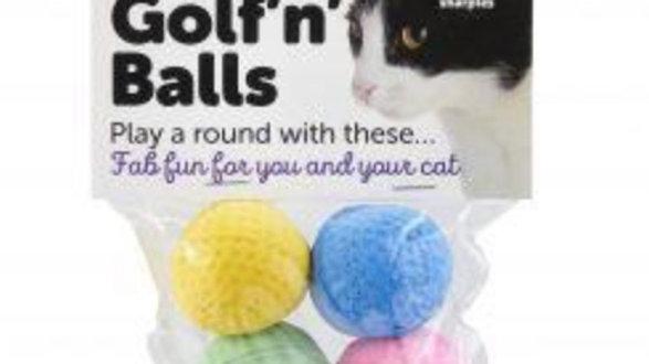Cat Golf Balls