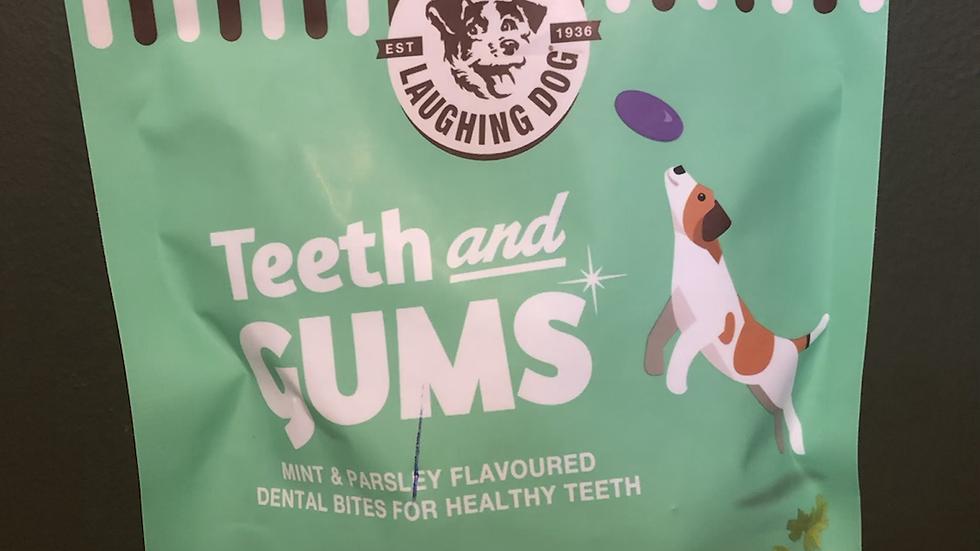 Laughing Dog Teeth & Gums