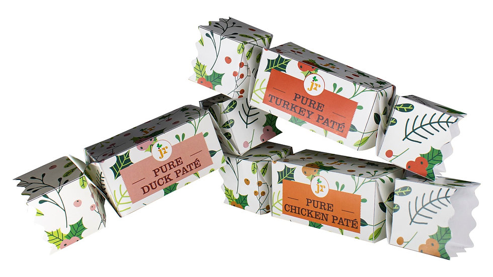 3 Bird Roast Crackers - will be despatched in October /November