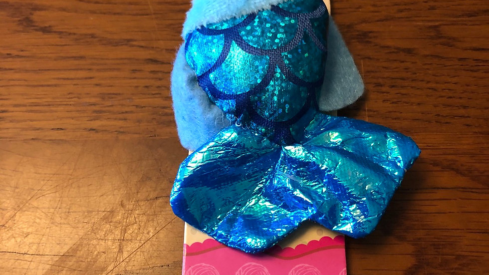 Blue Fish with catnip