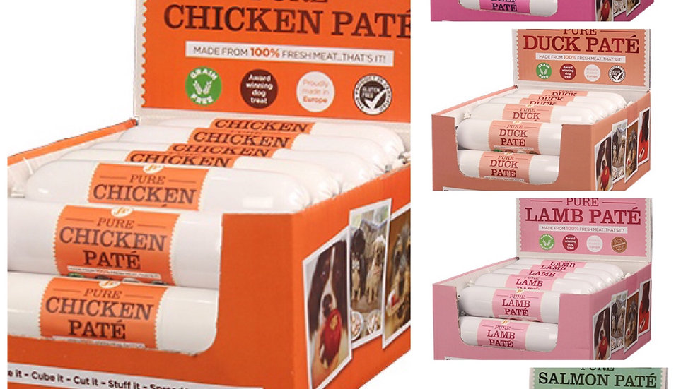 Pure Pate  (6 Flavours)   80g