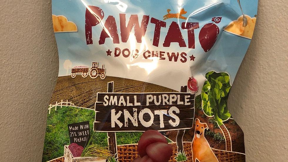 Pawtato Small Purple Knots