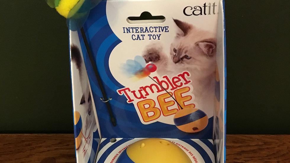 Catit Tumbler Bee Interactive Toy