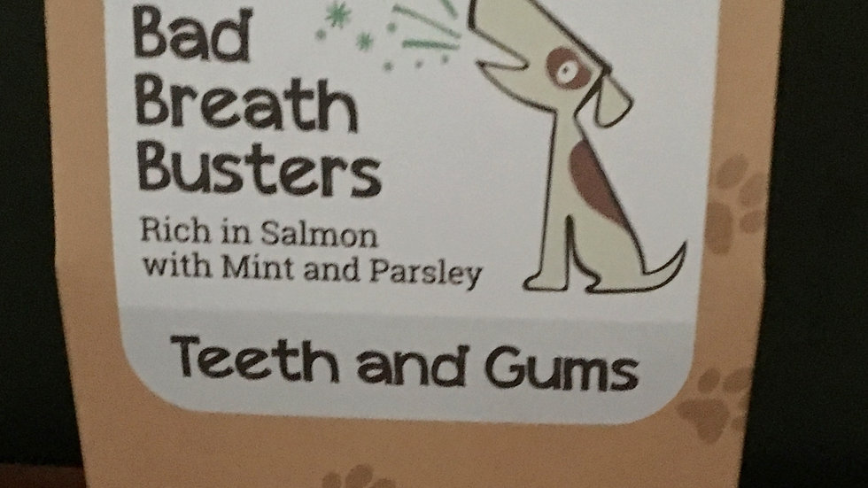 Bark Bites Bad Breath Busters Teeth & Gums