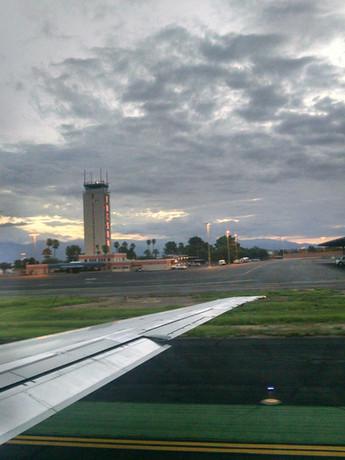 Take Off from Arizona