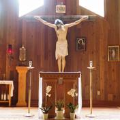 Altar and Crucifix