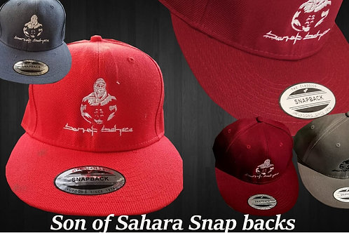 """Son Of Sahara"" snap back cap"