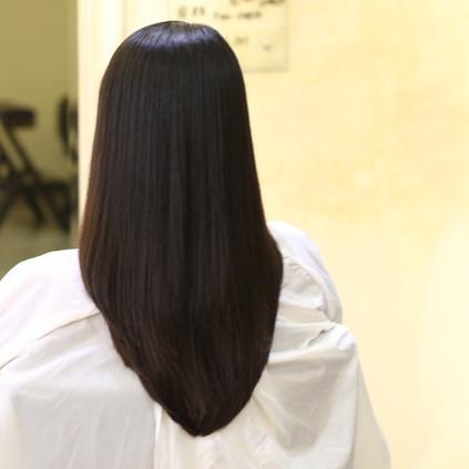 バンコクでナチュラルなストレートと|Straighten Rebonding Natural Bangkok Hair salon