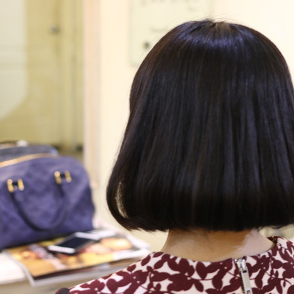ダメージ毛へのストデジパーマ