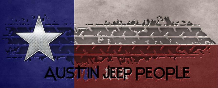 Austin Jeep People Text w Tred & Flag &