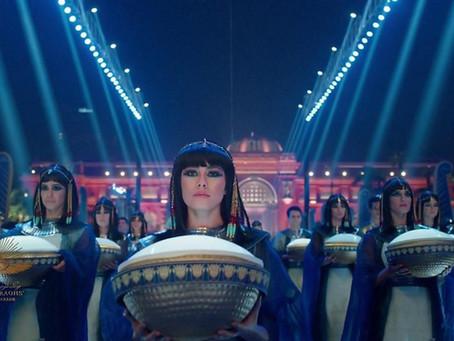 """Você assistiu o """"Pharaoh's Golden Parade""""?"""