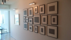 Hanging a group of frames