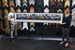 Very wide panoramic frame