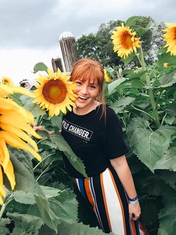 Seek the sun like a sunflower