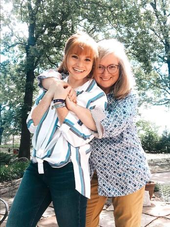 Mommy Daughter hugs