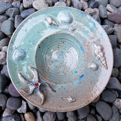 Seashell Footed Plate 1
