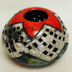 Pierced Candle Holder 3