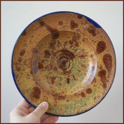 Aztec Sun Plate - Front