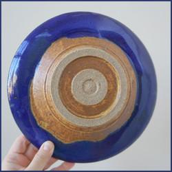 Aztec Sun Plate - Back