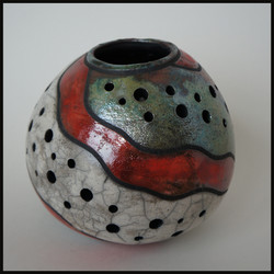 Pierced Candle Holder 2