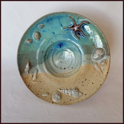 Seashell Footed Plate 2