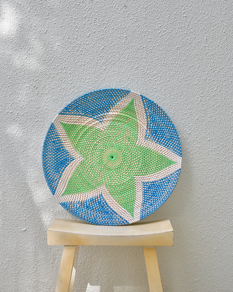 Woven Round Tray
