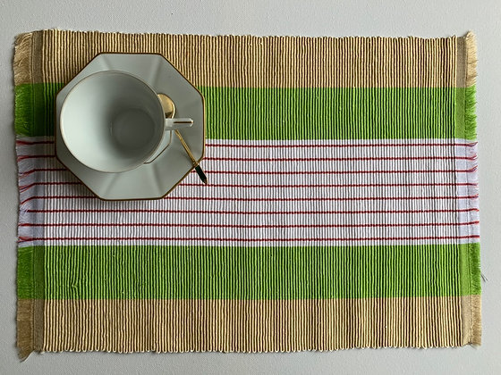 Hand Woven Placemats (Set of 6)
