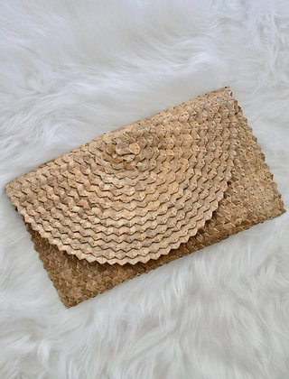 Abaca Purse with Lining